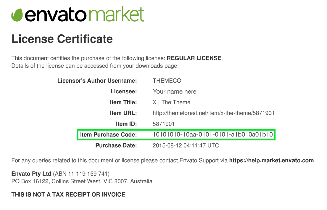 How to find my Envato Purchase code? - VillaTheme