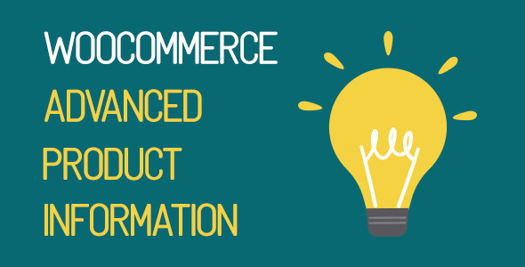 WooCommerce Advanced Product Information