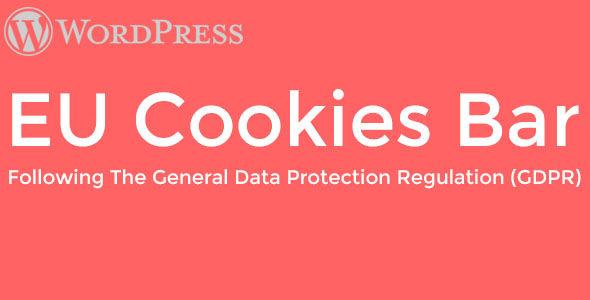 WordPress EU Cookies Bar