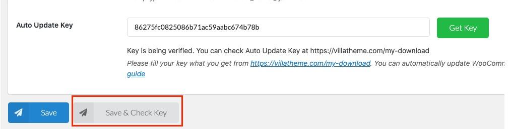 Get key