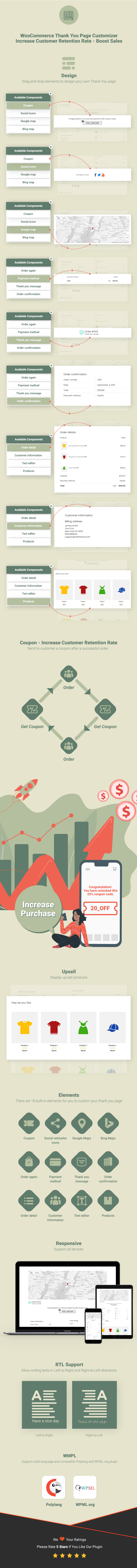 Inforgraphic WooCommerce Thank You Page Customizer