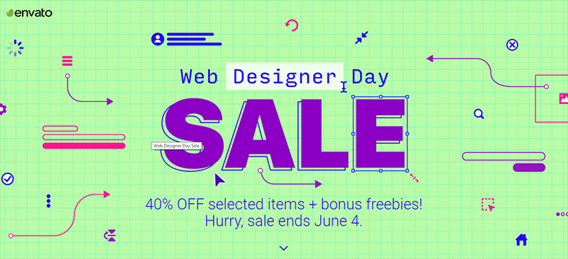 Web Designer Day Sale