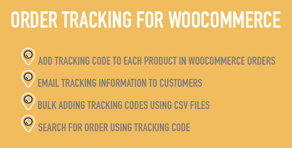 woocommerce order tracking