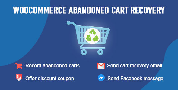 Send Cart Recovery Email Plugin