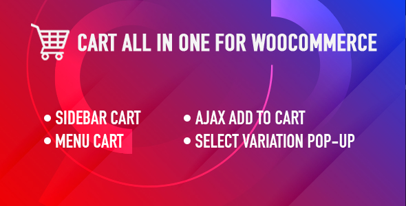 WooCommerce Cart All In One - All in One WooCommerce Cart plugin