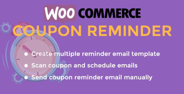 CouponReminder for WooCommerce