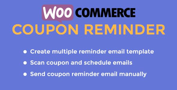 Coupon Reminder for WooCommerce