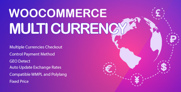 WooCommerce Multi Currency convert exchange rates
