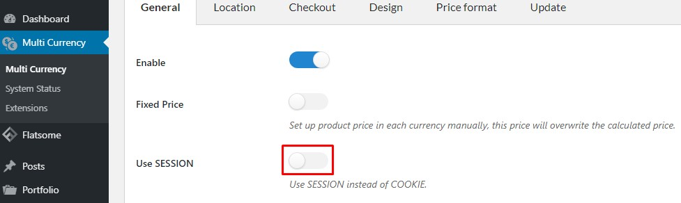 Use COOKIE