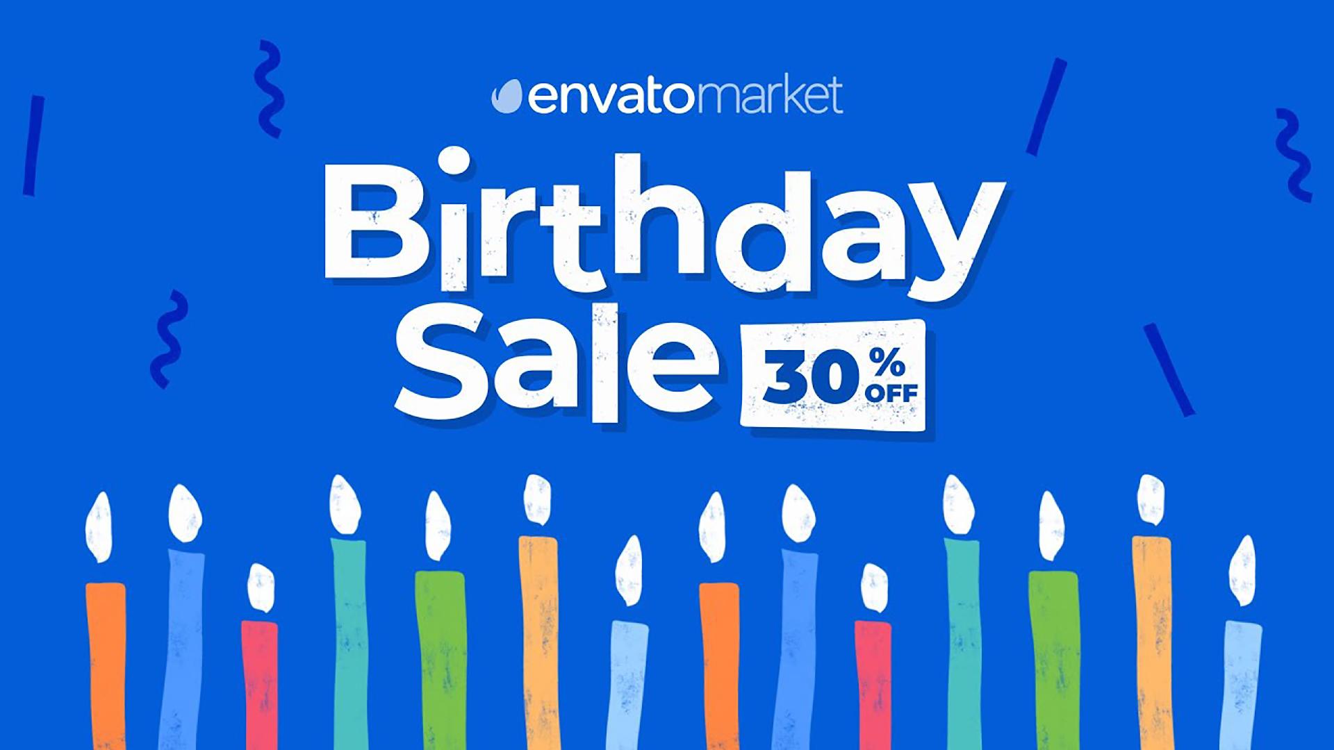 Envato Birthday 2020